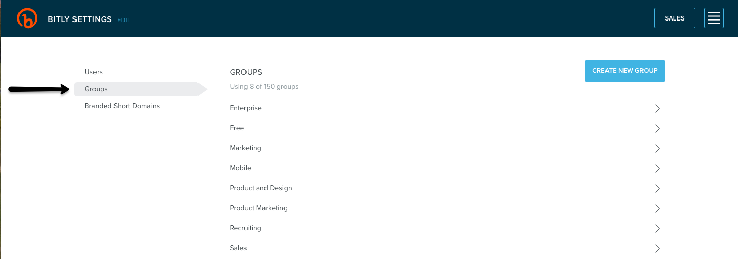 How do I create a group? – Bitly Support